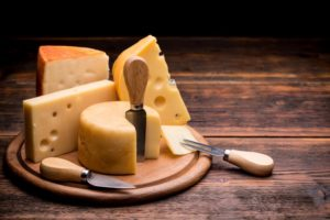 Hard cheeses, source of K2 to promote jawbone density